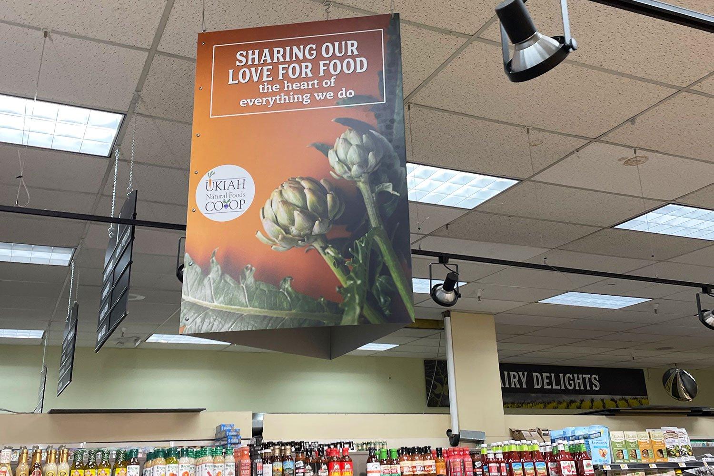 Ukiah Natural Foods_Signage_VisualPro6