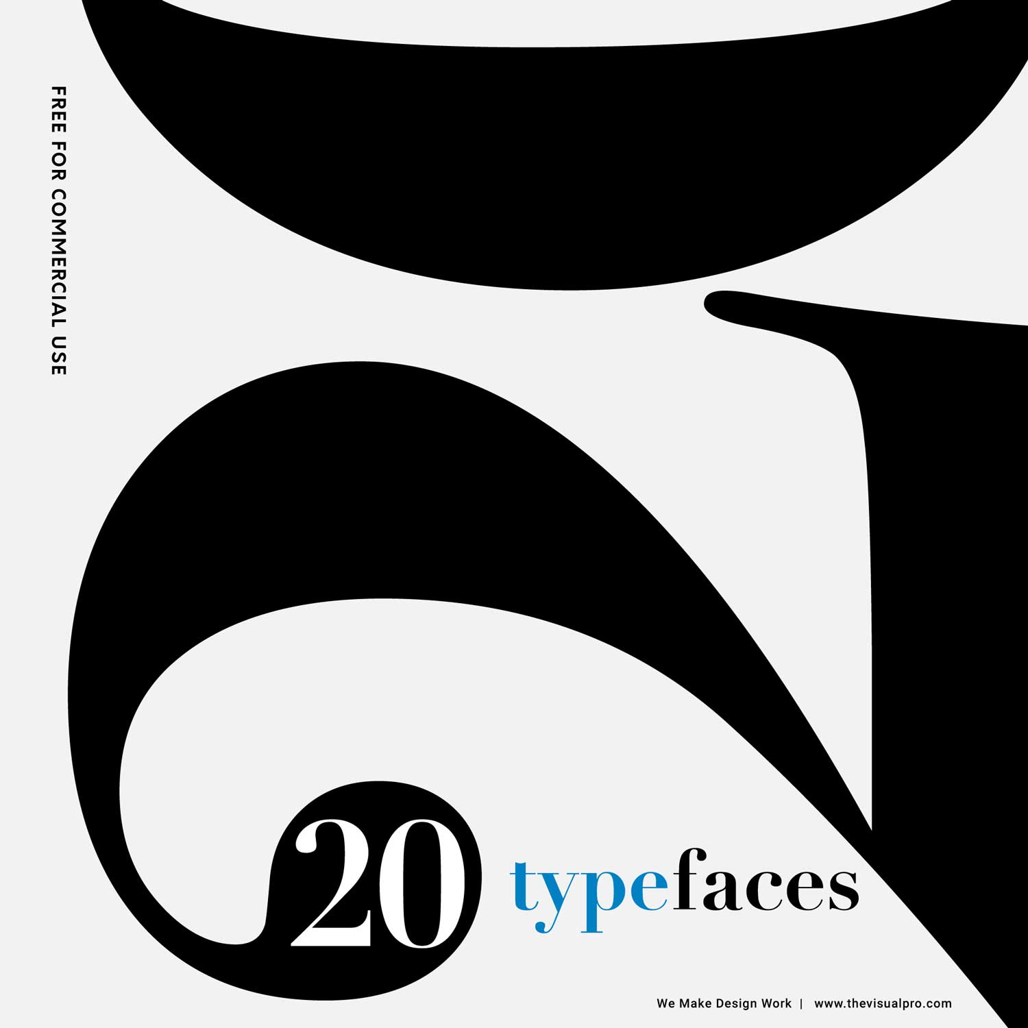 20 Free Typefaces for Commercial Use
