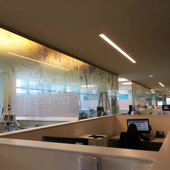 Custom Graphics for UCSF in San Francisco